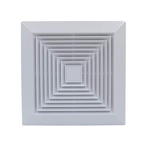 Ventilador de ventilación doméstico Extintor De 10 Pulgadas, Baño/Cocina/Dormitorio/Oficina De Techo con Conductos Ventilador LITING