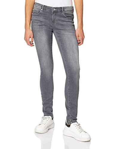 ONLY Damen Onlcoral Super Low Skinny DNM Rea489 Jeans, Grey Denim, 27/30