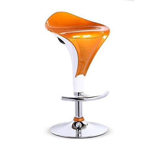 XQAQX kruk meubelglans ontbijt barkruk thuis keuken paar 3 kleuren moderne stoel barkruk ABS hard plastic gaslift stool