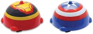 Peão Marvel Gyro Star Capitão America E Homem De Ferro- Dtc
