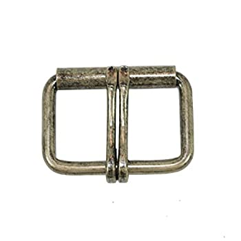 Hide & Drink  2 in  Belt Double Prong Buckle Rustic  54mm  for Tool & Workout Belts/Belt Replacement Buckle
