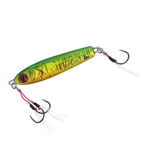 ダイワ(DAIWA) リールケース 紅牙 ベイメタル真鯛 60g MGグリーンゴールド