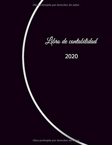 Libro de contabilidad 2020: libro de contabilidad o como libro de presupuesto | la visión general de sus finanzas | formato A4 con 370 páginas ... y egresos| con cubierta insensible – N°9