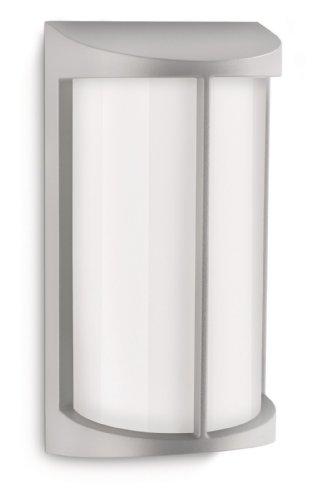 Philips 172298716 Pond Lanterne Murale Aluminium Gris 1 x 23 W