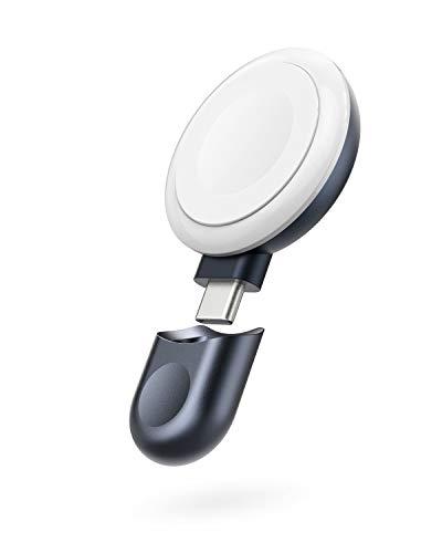 Anker Cargador magnético portátil, Cargador inalámbrico para Apple Watch con Conector USB C, [Certificado MFi] Compatible con Apple Watch Series 1/2/3/4/5/6