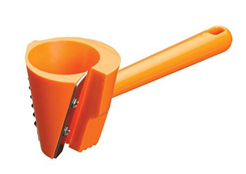 Kitchen Craft KCCARTWIRL Coupe Vague 3-en-1, Plastique, Orange, 28 x 28 x 18 cm
