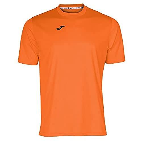 Joma Combi Camiseta Manga Corta, Hombre, Naranja, XL