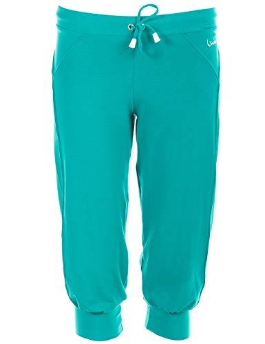 Winshape Wbe5 Pantalon de Sport 3/4 pour Femme XL Ocean/Green