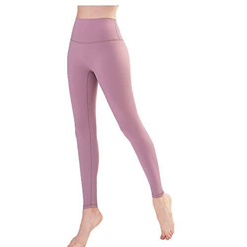 N\P Pantalones de fitness de cintura alta para mujer, ajustados, pantalones de deporte