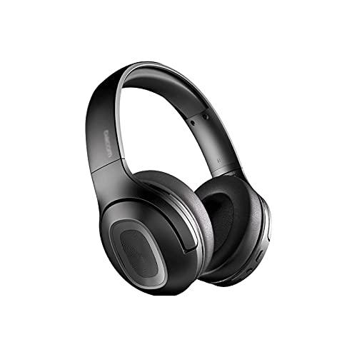WGLL Auriculares Bluetooth Auriculares inalámbricos sobre Oreja con micrófono, Auriculares inalámbricos estéreo Plegables y Ligeros para el Trabajo de Viaje PC DE TV
