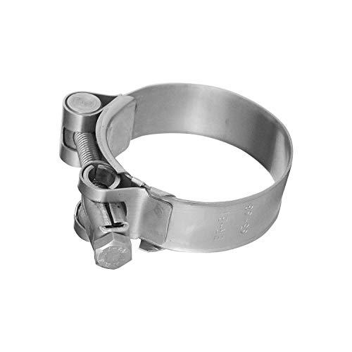 Schlauchschelle EDELSTAHL W4 V2A Spannbereich /Ø 80-100 mm Industriequalit/ät mit Schneckengewinde ER-BI/® Bandbreite 9 mm DIN 3017