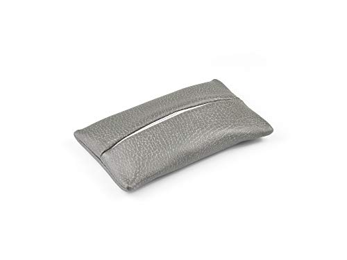 「Thing.Is」Pocket Tissue Holder for Purse, Travel Tissue Holder, Pocket Tissue Cover, Travel Tissue Holder, Portable Tissue Case, Tissue Pouch, Dark Grey