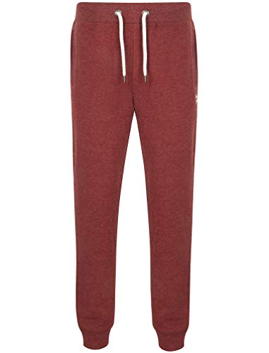 Marshaw Joggers In Bordeaux Marl - Tokyo Laundry-XL
