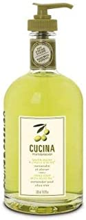 [Fruits and Passion] Cucina Olive Oil and Coriander Purifying Hand Wash and Organic Soap - 200 mL