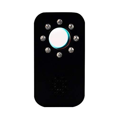 XYZCUP Oculta Buscador De CáMara PortáTil Inteligente Detector De CáMara DeteccióN De Infrarrojos Detector De SeñAl Multifuncional para La Seguridad De La DeteccióN,Negro