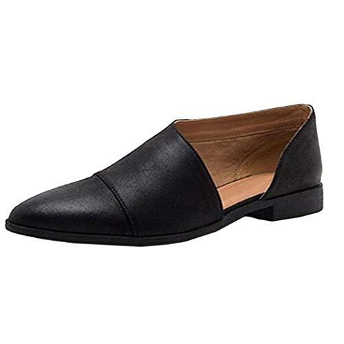 Covermason Zapatos Sandalias mujer verano 2018, desnudos planos puntiagudos casuales de la moda