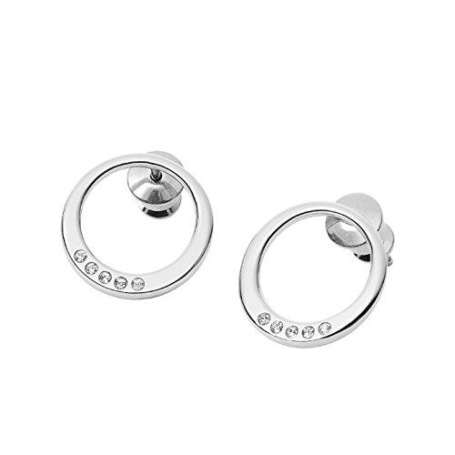 Skagen Women's Silver Stud Earrings SKJ1055040
