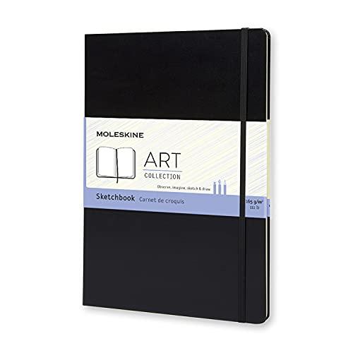 Moleskine Art Sketchbook, Hard Cover, A4 (8.25' x 11.75')...