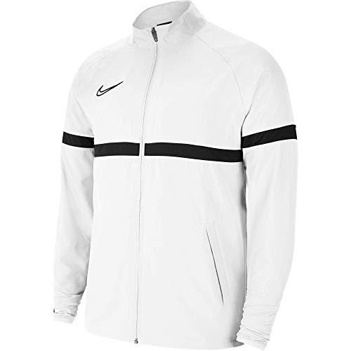 NIKE Dri-FIT Academy Chalecos suéteres, Blanc/Noir/Noir/Noir, XXL para Hombre