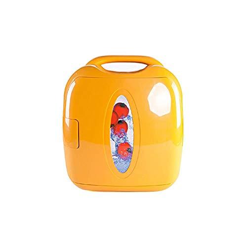 QJY mini-koelkast, koeler en warmer, draagbare koelkast, superstil, 8 liter, draagbare mini-koelkast, voor reizen, camping, vissen, slaapzaal