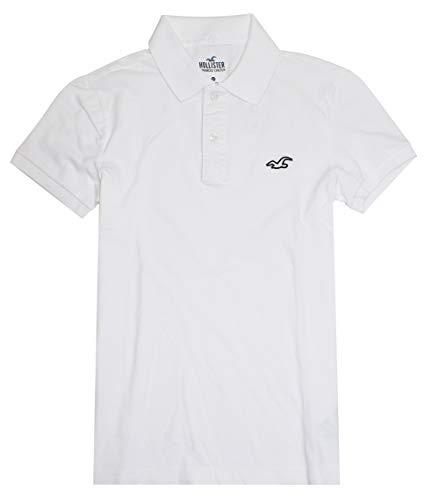 Hollister Men's Advanced Stretch Flex Pique Stretch Polo Shirt HOM-3 (Small, 0810-100)