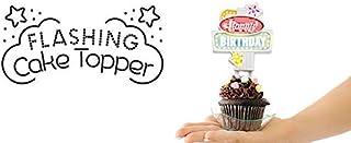SUCK UK Flashing Cake Topper - Happy Birthday フラッシュ バースデー ケーキトッパー