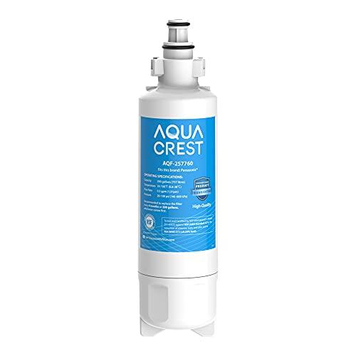 AQUACREST 257760 Kühlschrank Wasserfilter, Kompatibel mit CNRAH-257760, 125950, NR-B53V1 NR-B53V1-WB/X1D NR-BG53V2 NR-BG53VW2 NR-B53V2-XE, NR-B54X1-WB/E; EcoAqua EFF-6032B; AH-PCN (1)