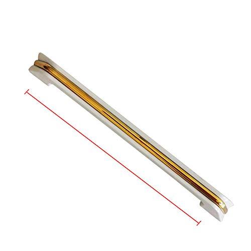 Handvat Van De Deur, Aluminiumlegering Garderobehandvat, Eenvoudige Witte Goud Kast Deurklink, Ladekast Deurklink,128