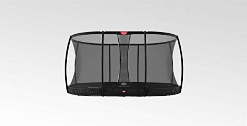 BERG Trampoline Inground Champion oval 520 with Safety Enclosure Net Deluxe XL | Premium Trampoline, Kids trampoline, Longer Lifetime Warrenty, Jump higher with TwinSpring and Airflow