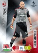 Champions League Adrenalyn XL 2012/2013 Christian Abbiati 12/13 Goal Stopper