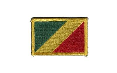 Aufnäher Patch Flagge Republik Kongo - 8 x 6 cm