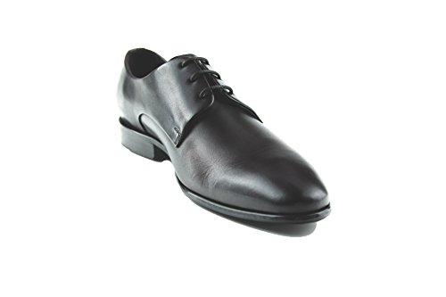 Prime Shoes Flexible Orlando Schnürschuh Schwarz Calf Black aus feinstem Kalbsleder Sacchetto 12