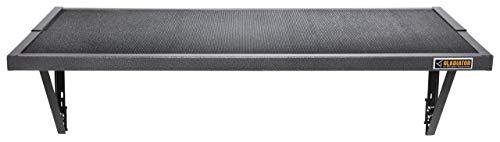 Gladiator GAWA45SFTG 45-Inch GearLoft Shelf,Hammered Granite