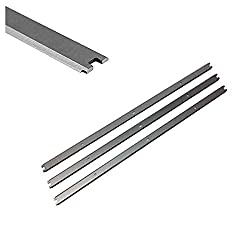 in budget affordable Replace 13-3 / 8 inch HSS Planing Knife for Ridgid Planing Machines R4331, R4330, AC20502 – Set of 3