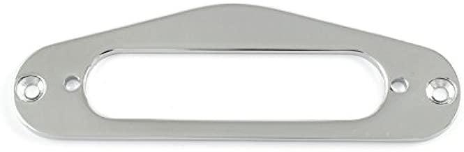 CHROME METAL PICKUP MOUNTING RING FOR FENDER STRATOCASTER STRAT GUITAR *NEW*