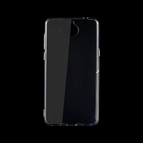 ZAORUN Cubiertas Protectoras para celulares Huawei Y5 (2017) 0.75mm TPU Funda Protectora Transparente Carcasa Trasera (Color : Transparent)