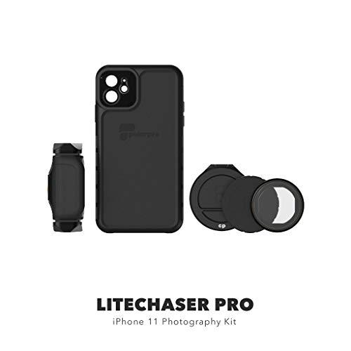 PolarPro LiteChaser Pro Photography Kit für iPhone 11 Schutzhülle + Griff + Polfilter