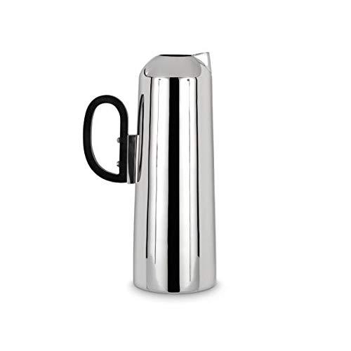 Tom Dixon - Form - Krug/Karaffe/Kanne - Rostfreier Edelstahl - Silberfarben - Ø 15cm x H: 25cm - Fassungsvermögen: 1,15L