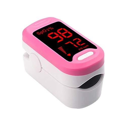 MINI SHOW Fingerdruck-Pulsoximeter,Schnelle Und Einfache Pulsoximetrie Bei Erwachsenen Und Kindern,Ergebnisse Mit OLED Anzeigen,Rosa