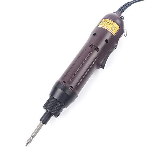 Destornillador eléctrico de 1/4 pulgadas, vástago cilíndrico, destornillador eléctrico bidireccional, práctica herramienta...