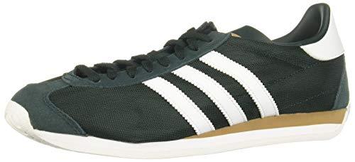 adidas Originals Country, Collegiate Green-Footwear White-Carbon, 8