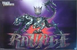 Transformers 'Revenge Of The Fallen' Animated Art Poster 'RAVAGE' (RP9889)