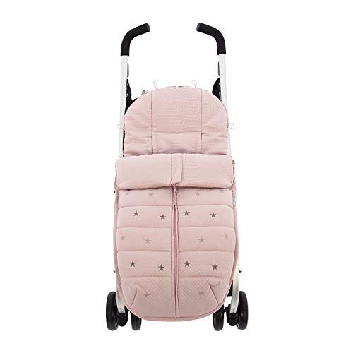 Saco Silla ligera de Paseo Rosy Fuentes en color rosa empolvado