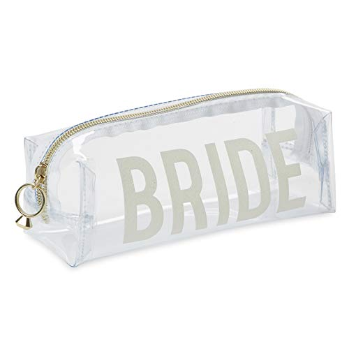 Charming Charlie Bridal Shower Cosmetic Loaf Case - Makeup and Toiletries Organizer, Wedding-Themed Design