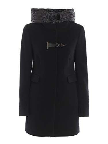 Fay Luxury Fashion Damen NAW59393430RFPB999 Schwarz Wolle Mantel | Herbst Winter 19