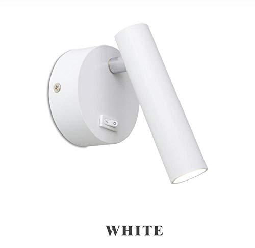 LED wandlampen 3W lees wandlamp met schakelaar voor studie woonkamer gangpad wandkandelaars verstelbaar nachtkastje modern wandlamp wit koud wit 1