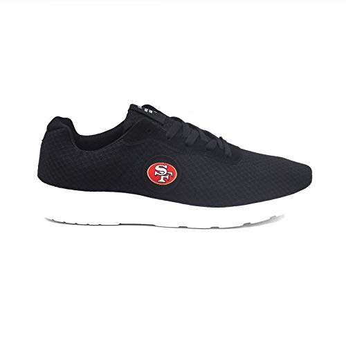 CHNNFC Football Team Logo Embroidered Lightweight Walking Athletic Shoes Sport Jogging Running Sneakers for Men Women - Pick Team