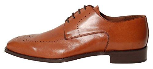 Antica Calzoleria Campana Schuhe | Mod. 620x | Linea Premium | Derby | braun | Größe 40
