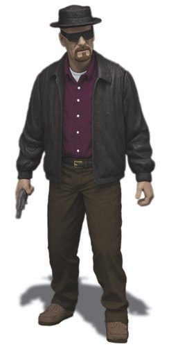Mezco Toyz Breaking Bad Heisenberg Walter 6' Action Figure