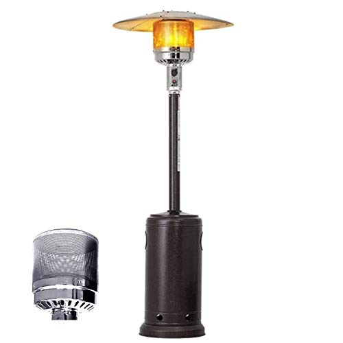 CAREXY Gas Outdoor Patio Heater, LP Propane Heater Standing Heater Garden Tall Outside Commercial Heater Lamp for Home Camping Parties